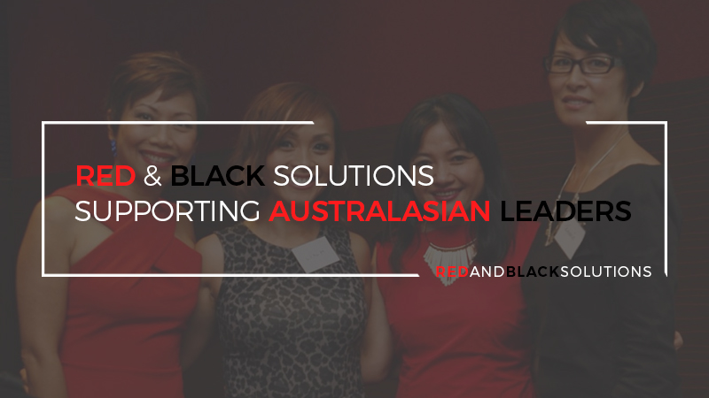 Red & Black Solutions Supporting Australasian Leaders