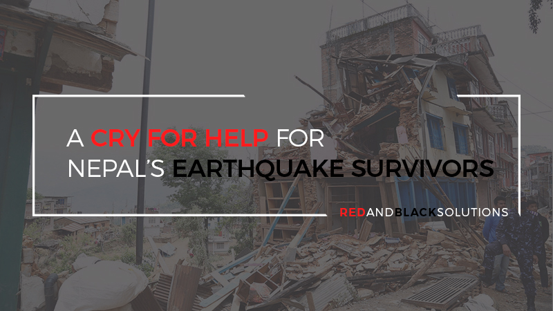 A Cry for Help for Nepal's Earthquake Survivors