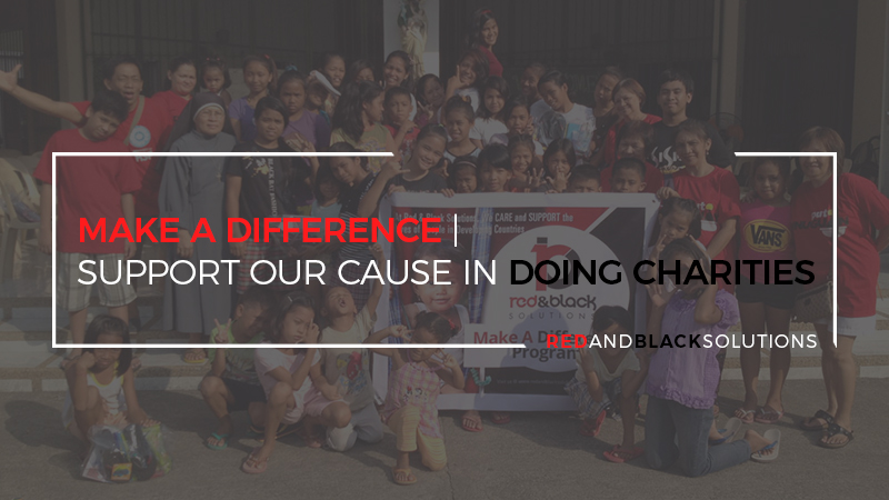 Make a Difference | Support Our Cause in Doing Charities