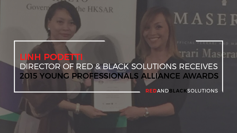 Linh Podetti – Director of Red & Black Solutions Receives 2015 Young Professionals Alliance Awards